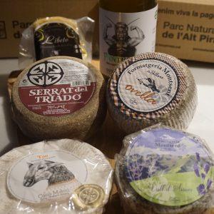 Cistella de formatges (6 productes)